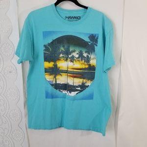 Tony Hawk Tropical Design T-shirt